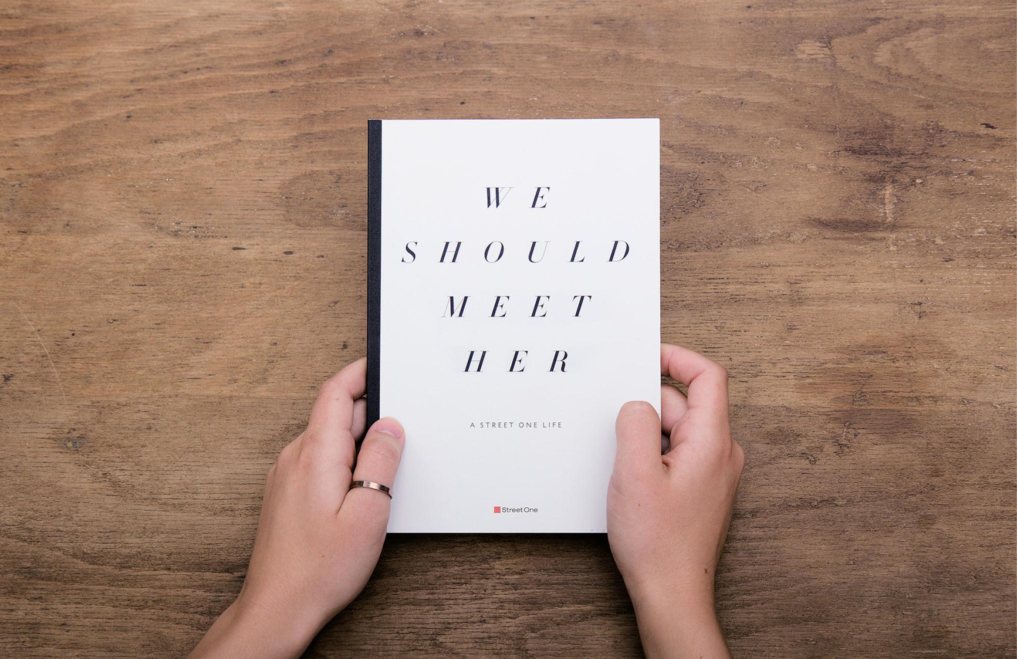 Für den Vertrieb der Modemarke Street One entwickelten die sons of ipanema aus Köln ein Buch.