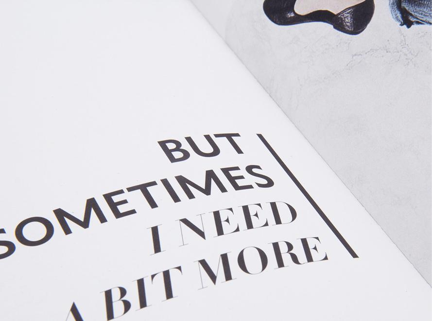 Für den Vertrieb der Modemarke Street One entwickelten die sons of ipanema aus Köln ein Buch. Editorial Design und hand lettering.