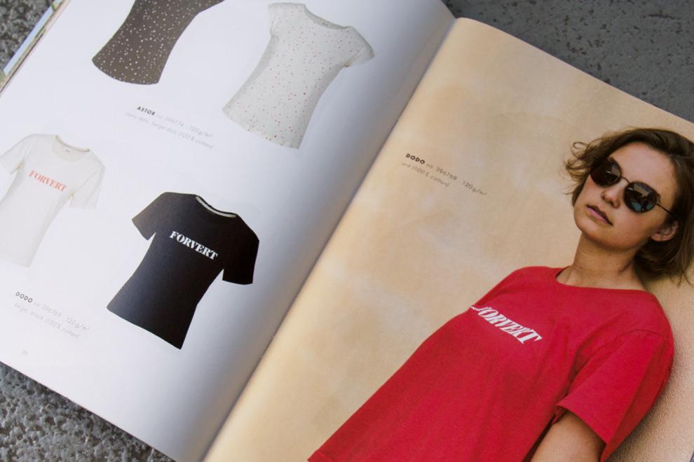 Doppelseite des forvert Magazins Summer 2018 – Grafikdesign von der Grafikdesign Agentur sons of ipanema