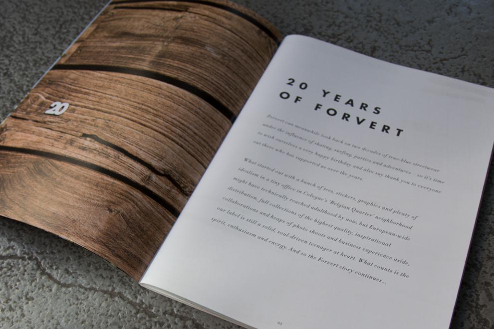 Introseite des neuen forvert Magazins Summer 2018 / Artwork: sons of ipanema, Cologne