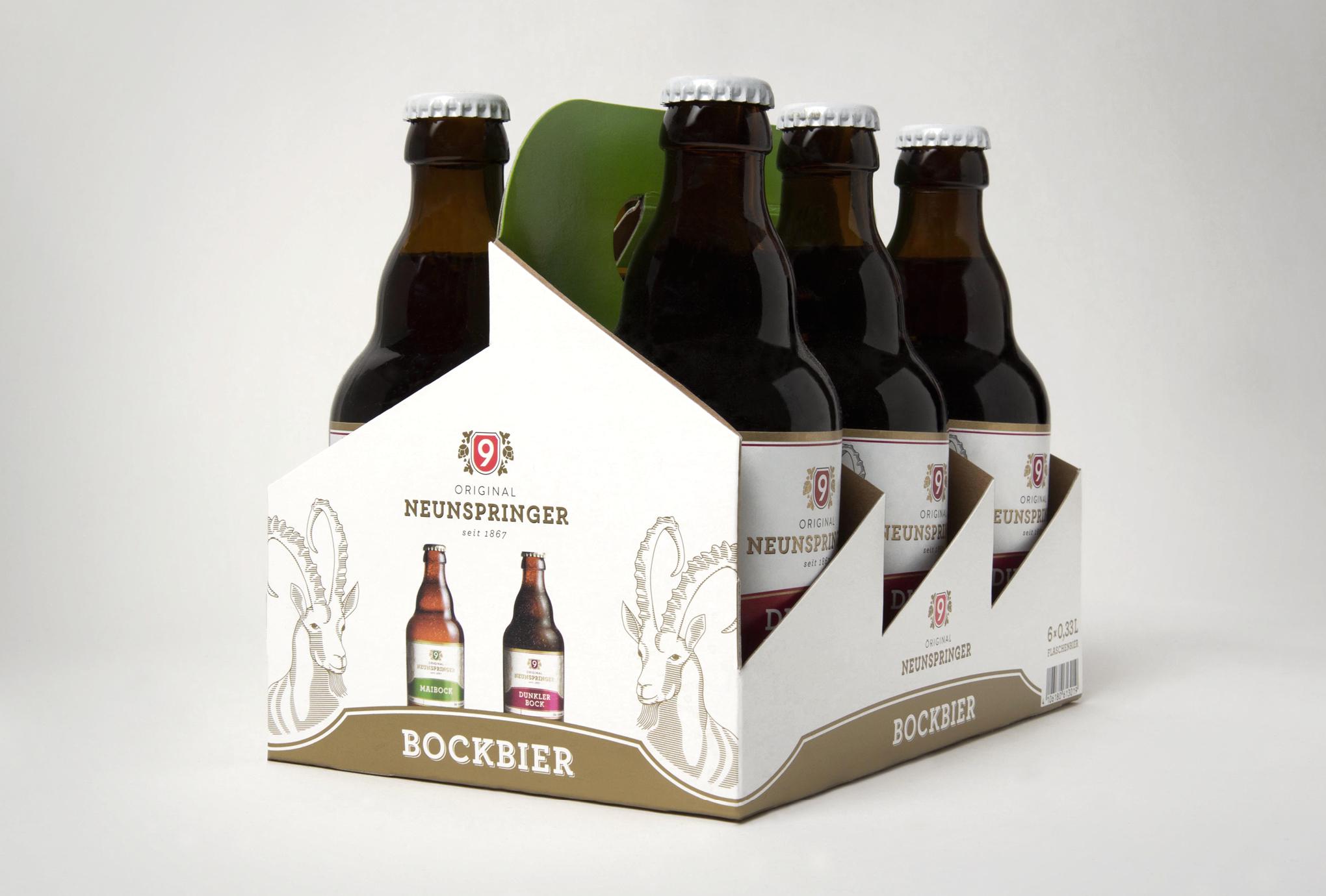 Bockbier der Brauerei Neunspringe