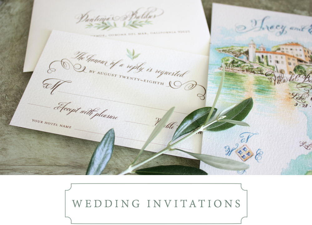 papermelange.com | Custom Invitations For Weddings and Events | Paper Melange | Wedding Stationery