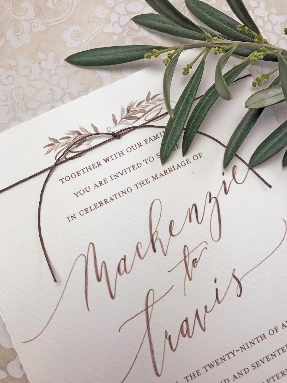 Italy Wedding Invitation | Paper Melange | Exclusive Wedding Invitation Designer