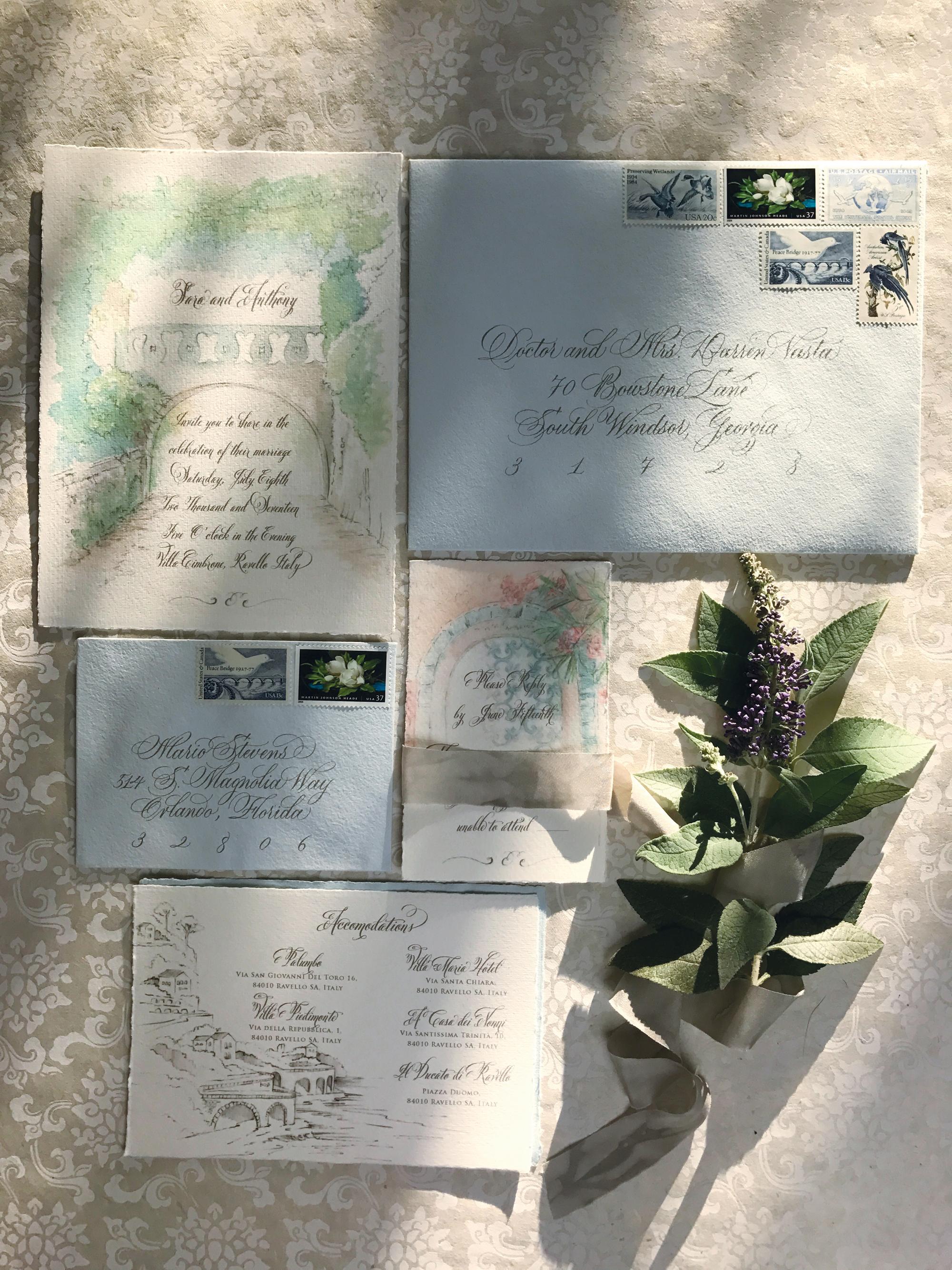 Villa Cimbrone Wedding Suite