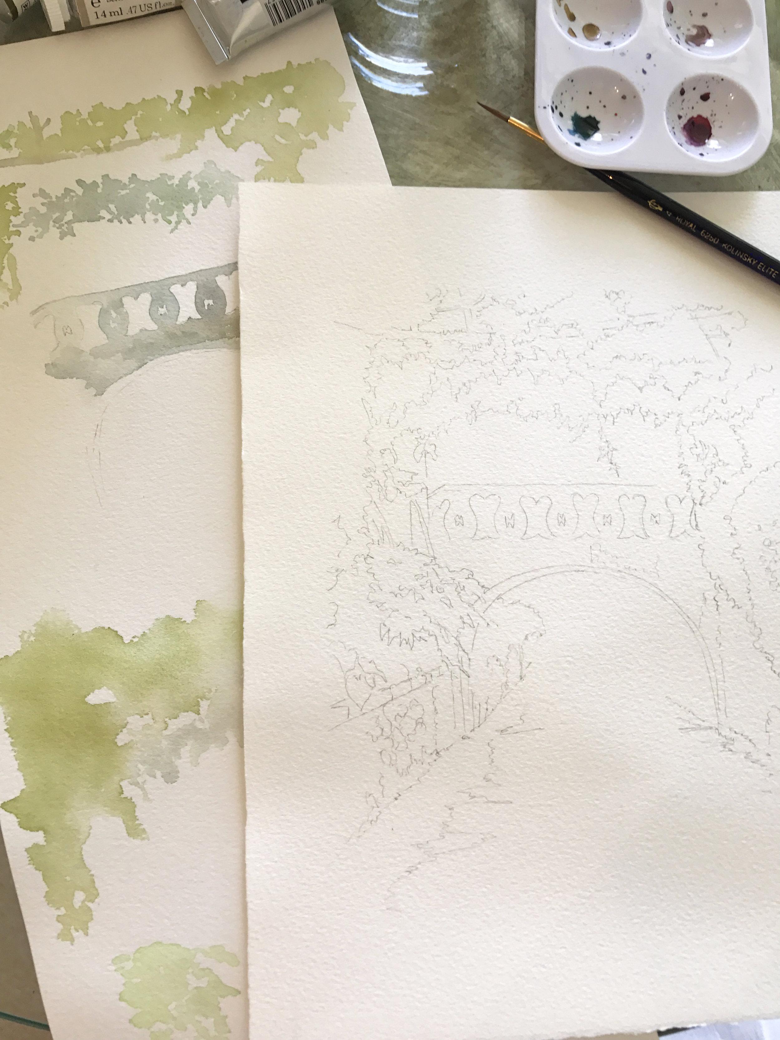 Sketch for Invitation