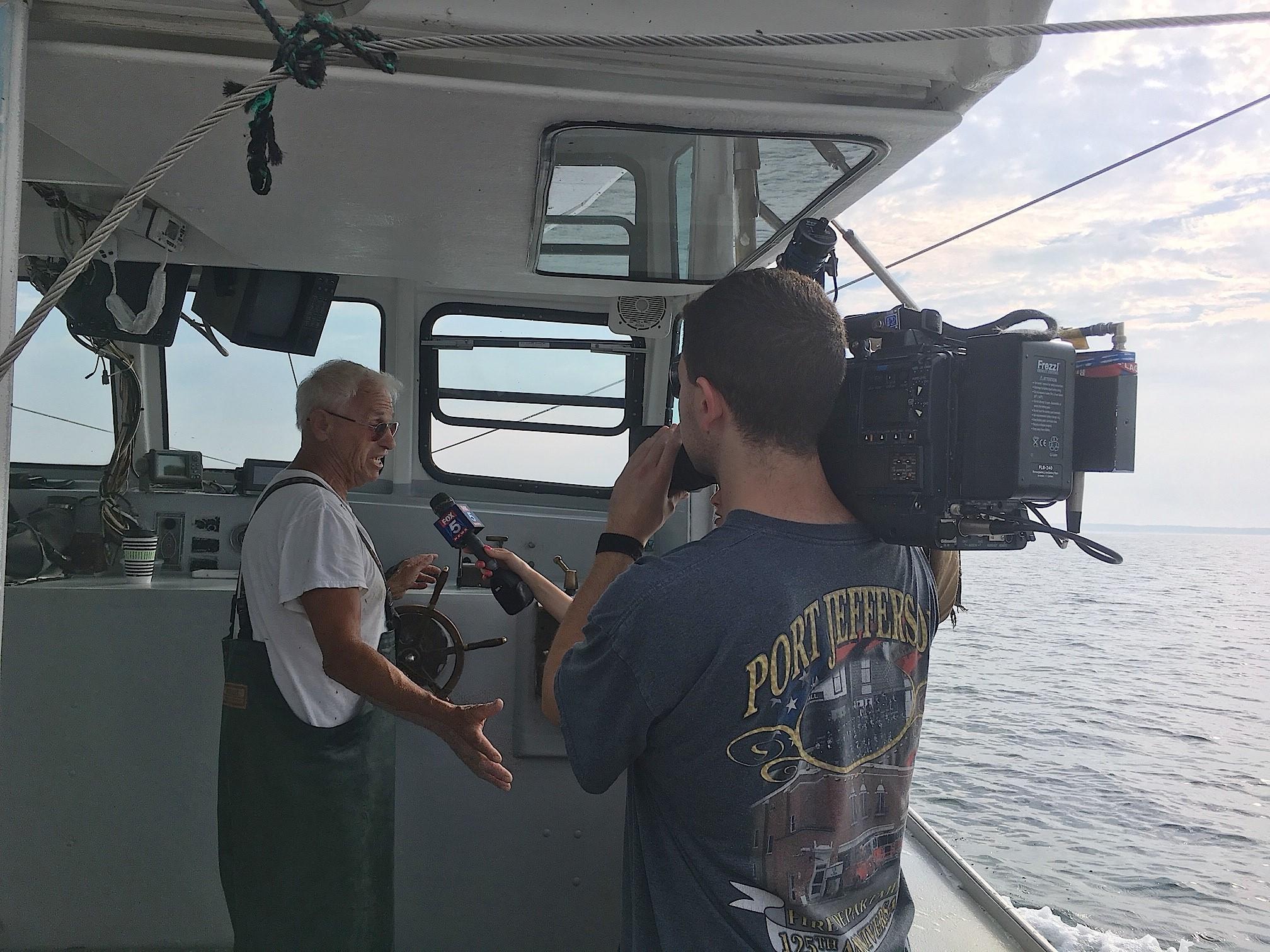 Captain Phil Karlin interviewed by Fox 5's Jodi Goldberg