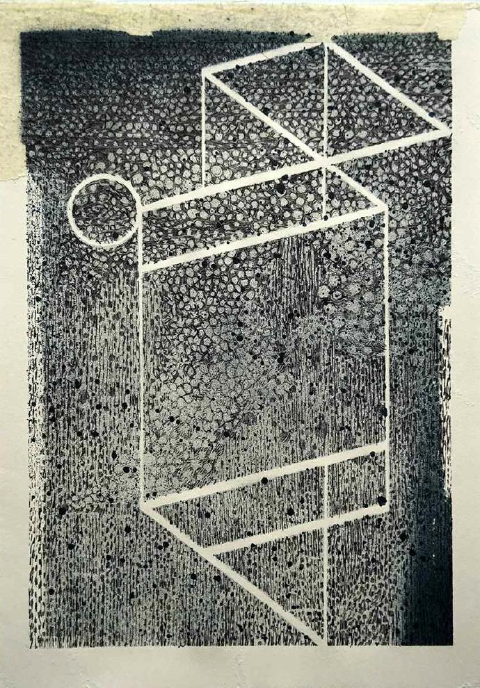Geometrie #1 - 21,2 x 30 cm