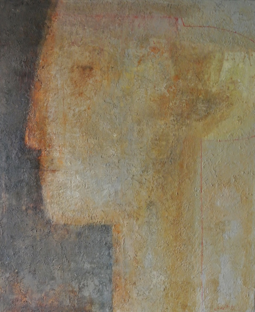 Lika Nakashidze - 100 x 120 cm - Olie op doek