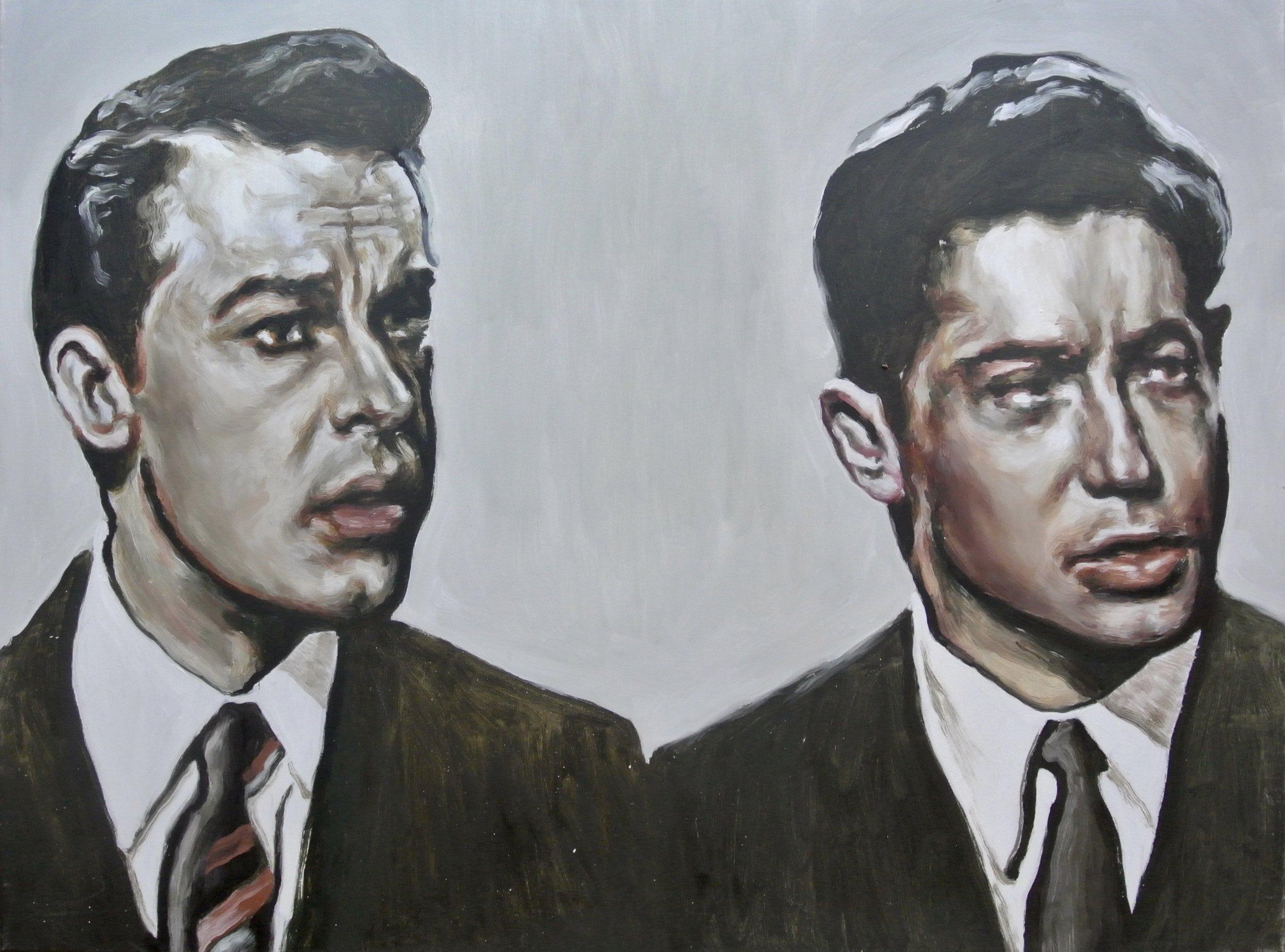 2 Pete's - Oil sur toile- 60 x 80 cm