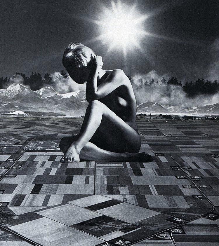 Sour Times - 2017 - Collage op papier - 30 x 40 cm