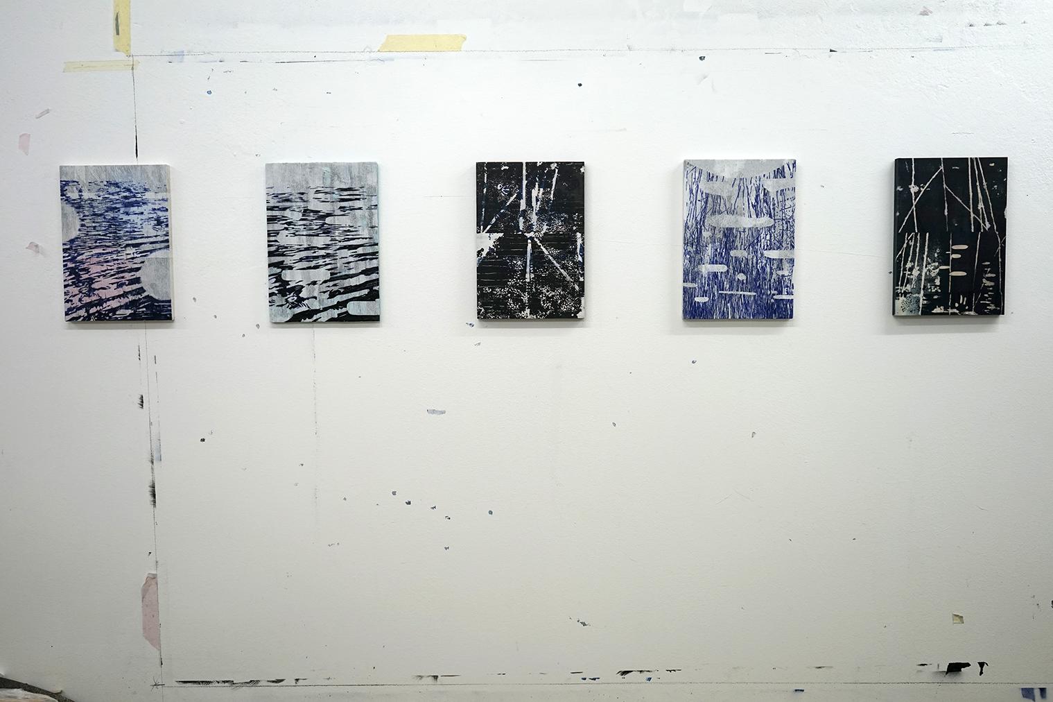 Studio view 1 - 'Waterscopies'