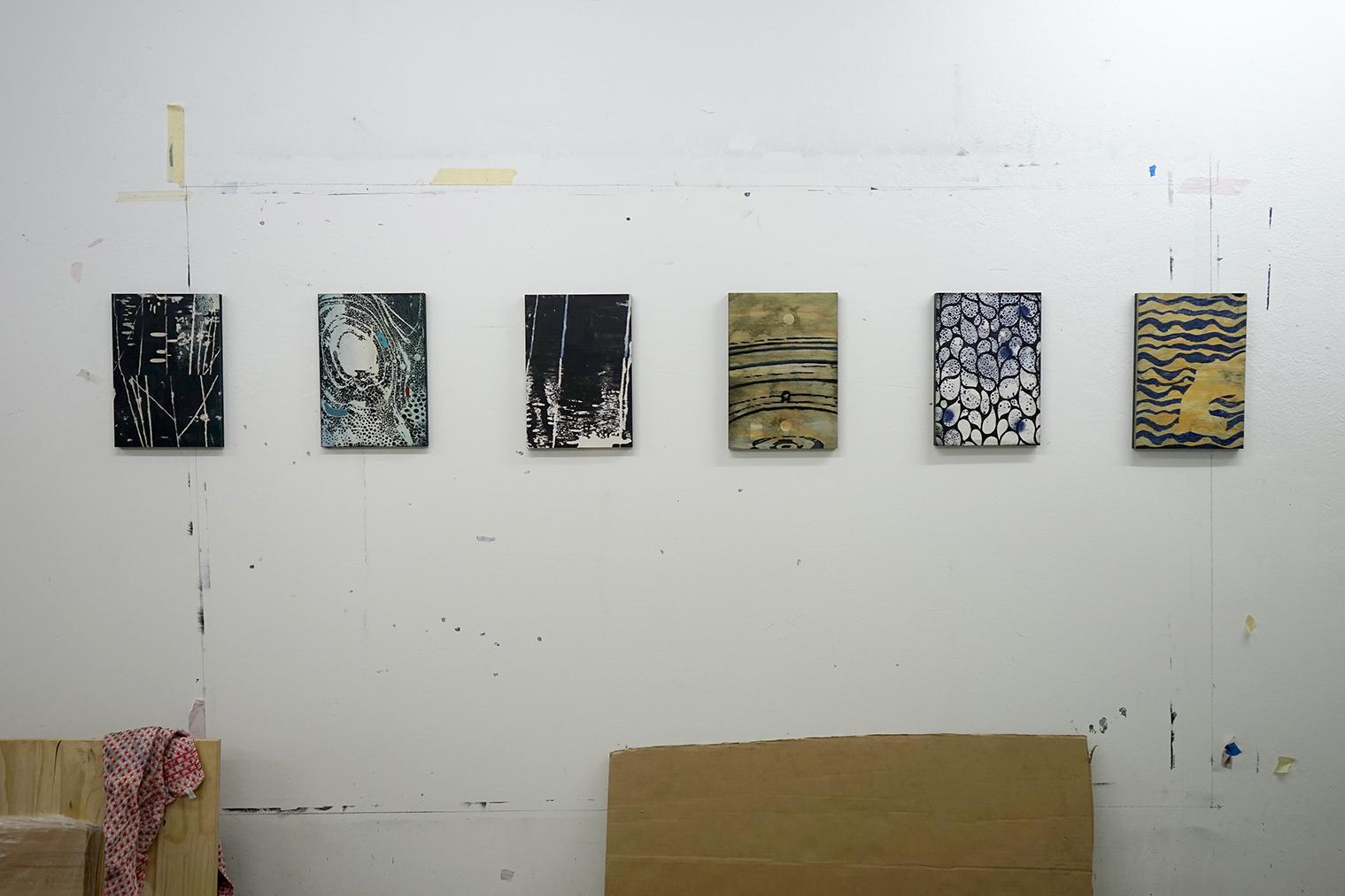 Studio view 2 - 'Waterscopies'