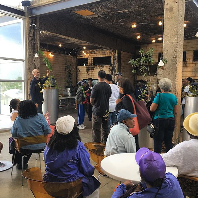 This weekend Alderman Howard B Brookins Jr. brought a group of 21st ward community members to learn about the impacts and benefits of anaerobic digesters in our city. Thank you, Alderman Brookins, for connecting citizens with information. We love getting the chance to share our work with local policy makers!