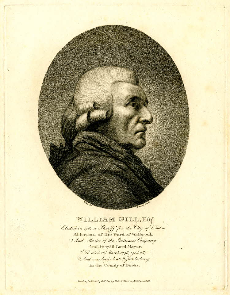 William Gill, Thomas Wright's business partner and brother-in-law for over 50 years