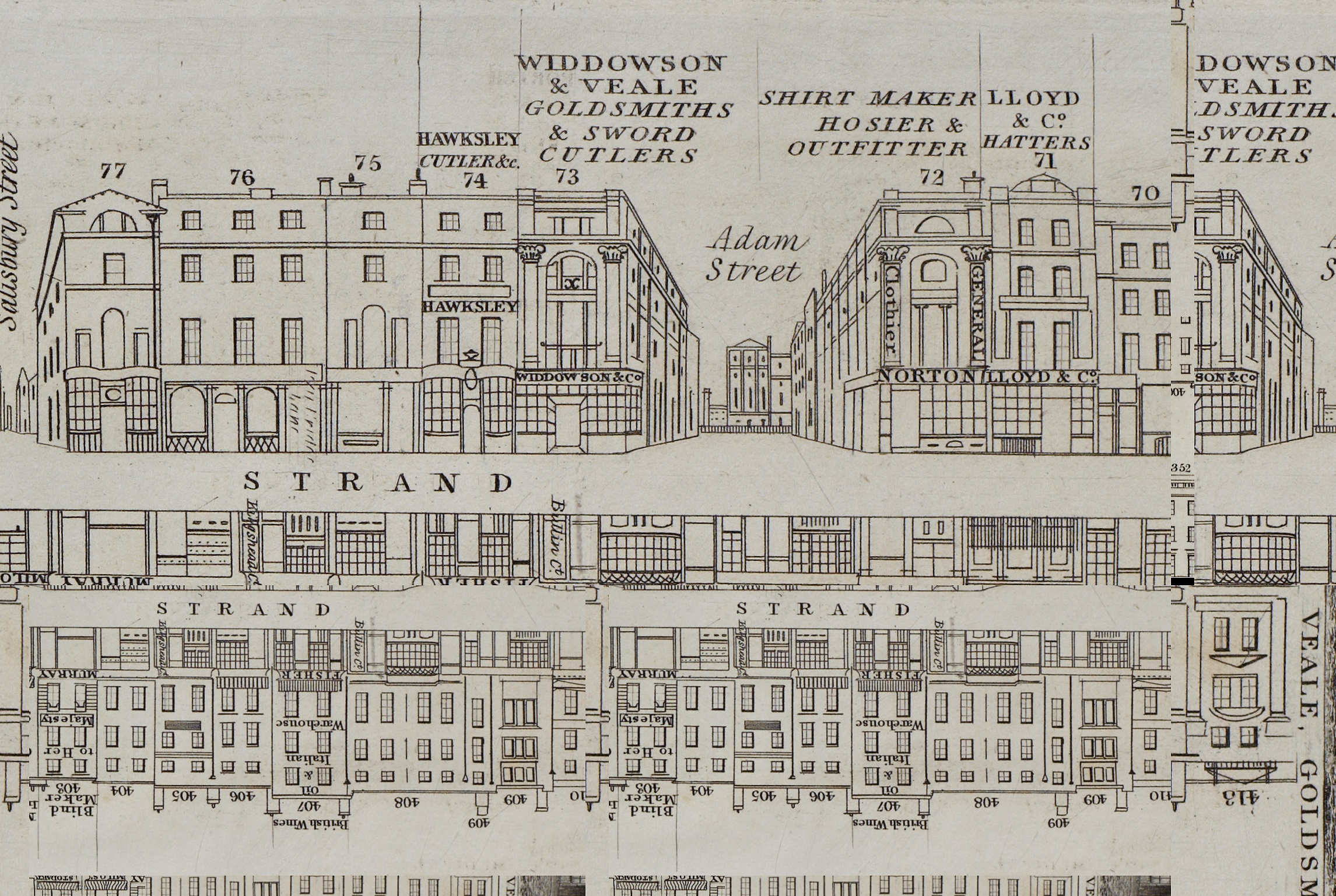 Widdowson & Veale on the Strand