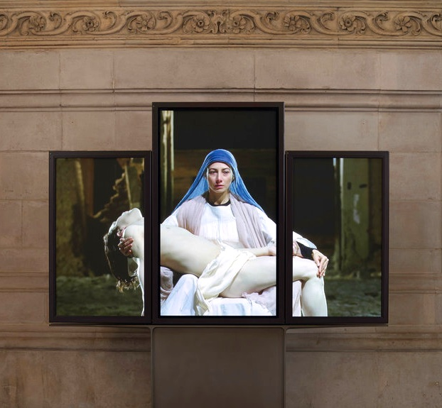 Bill Viola,  Mary, 2016  - Photo Peter Mallet