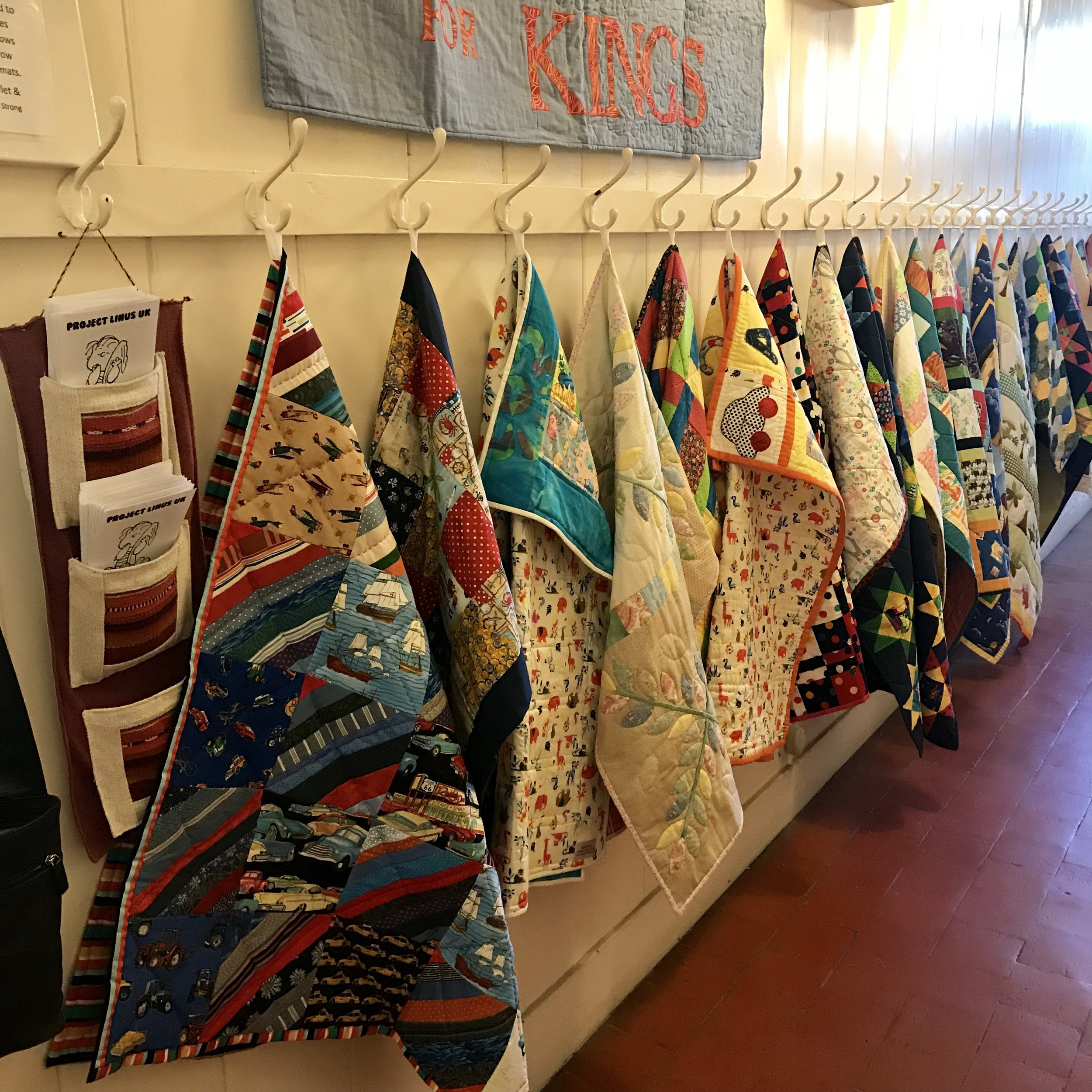 Quilts made for King's Hospital