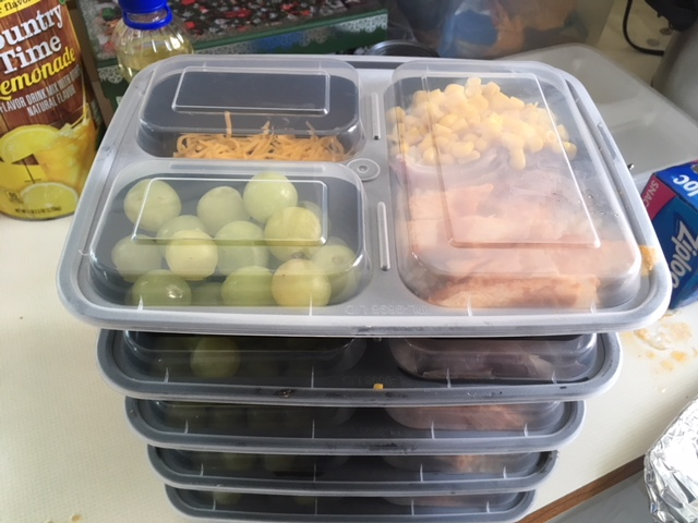 meal prep and healthy eating for weight loss