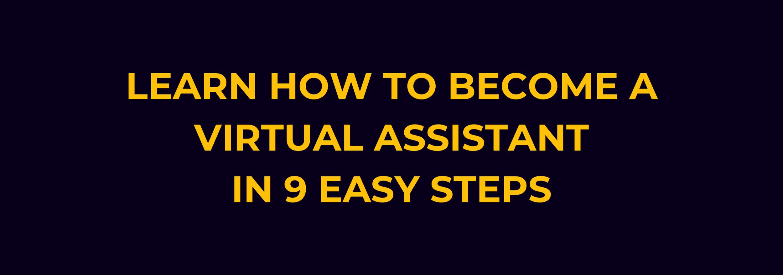 virtual assistant course
