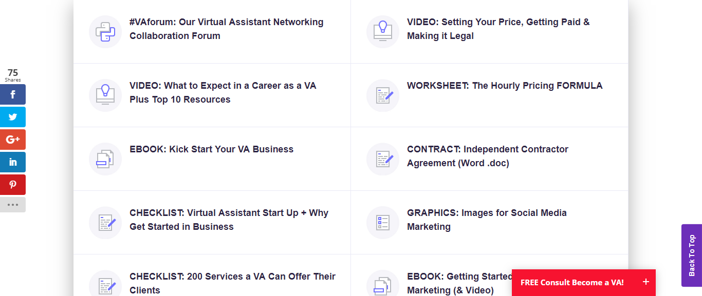 virtual assistant networking
