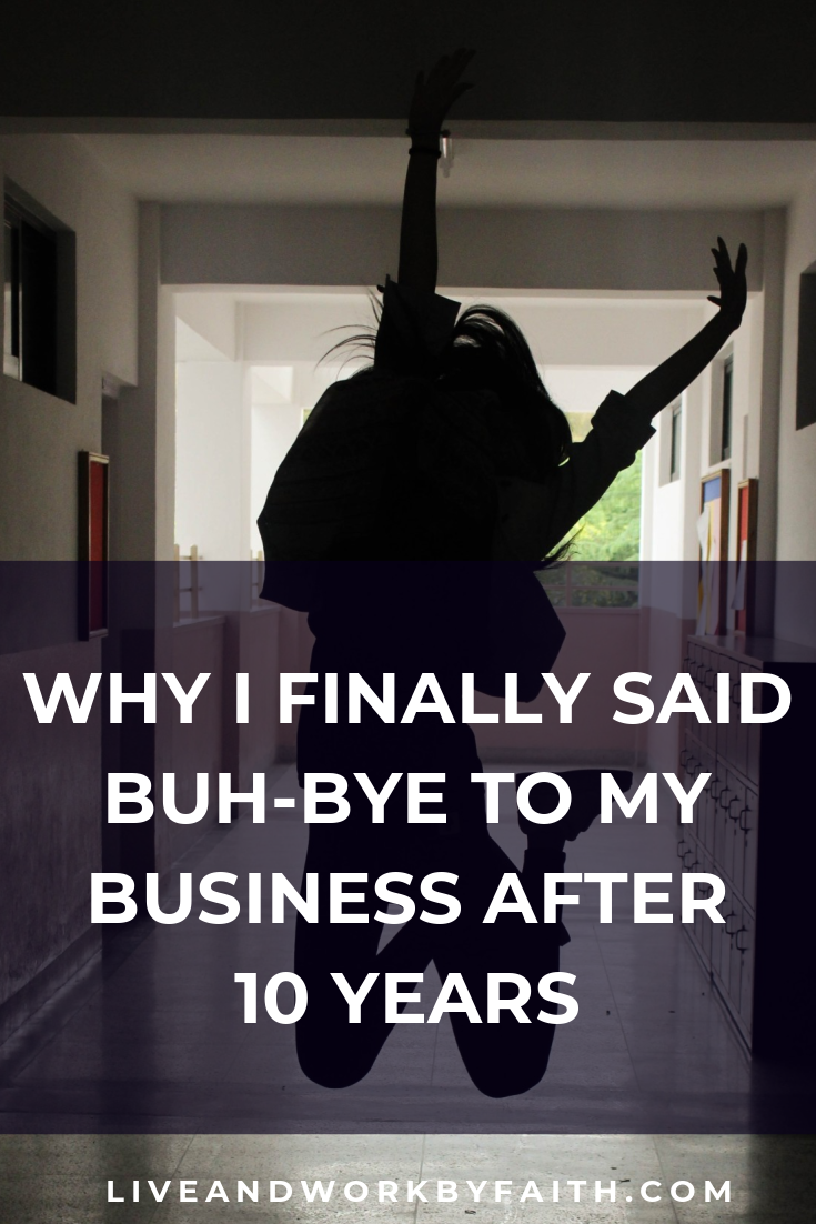 The reasons why I quit my virtual assistant business after 10 years.