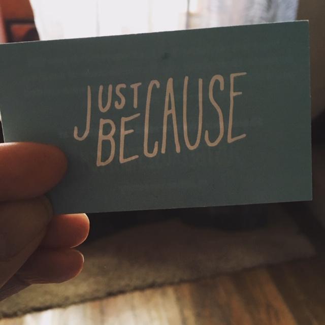 justbecausestory