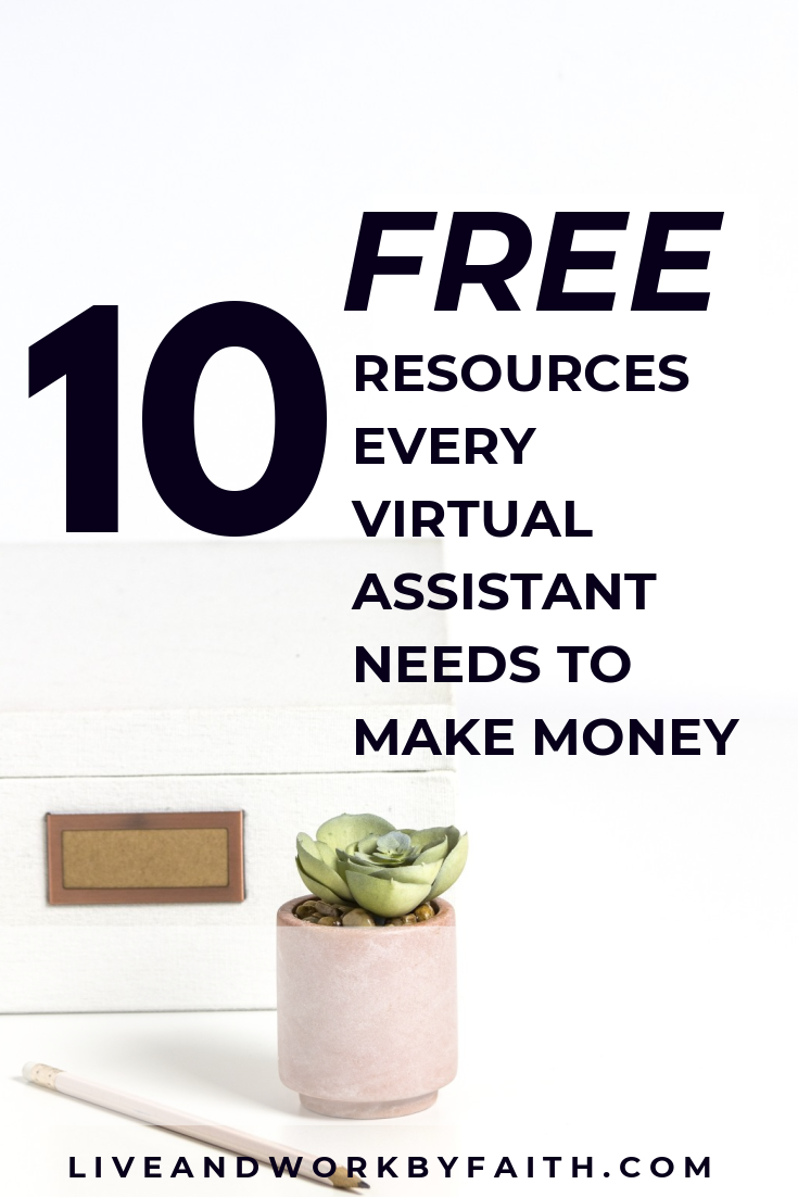 Are you a virtual assistant and need some free resources to get going? Check out this post with my favorite 10 resources that will jumpstart your virtual assistant business.