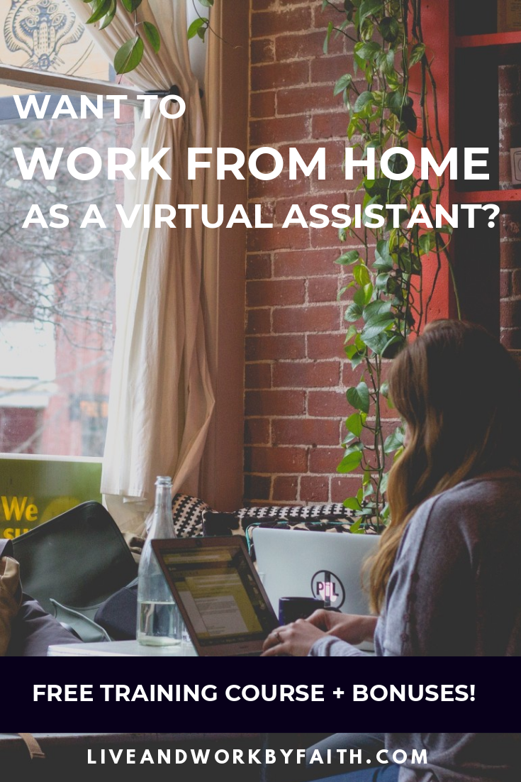 Want to work from home as a virtual assistant but don't know where to start? This free training breaks it down into 9 simple steps so you can start making money right away. #virtualassistant #workfromhome