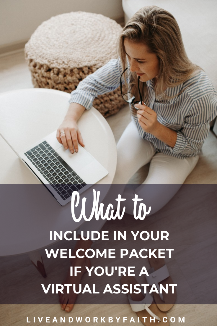 What's a welcome packet and why do you need to send one to your virtual assistant clients? Find out in this blog post.