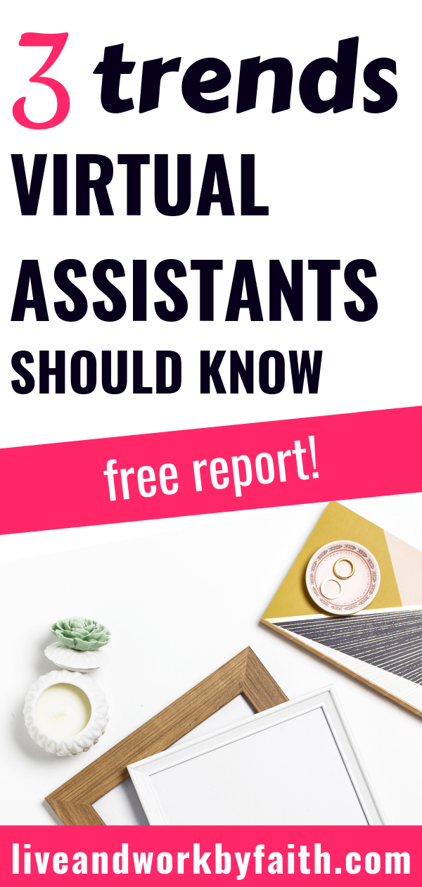 Some things about the virtual assistant have changed, some have remained the same. Check out this industry report about the trends that all virtual assistants must know and my three observations.