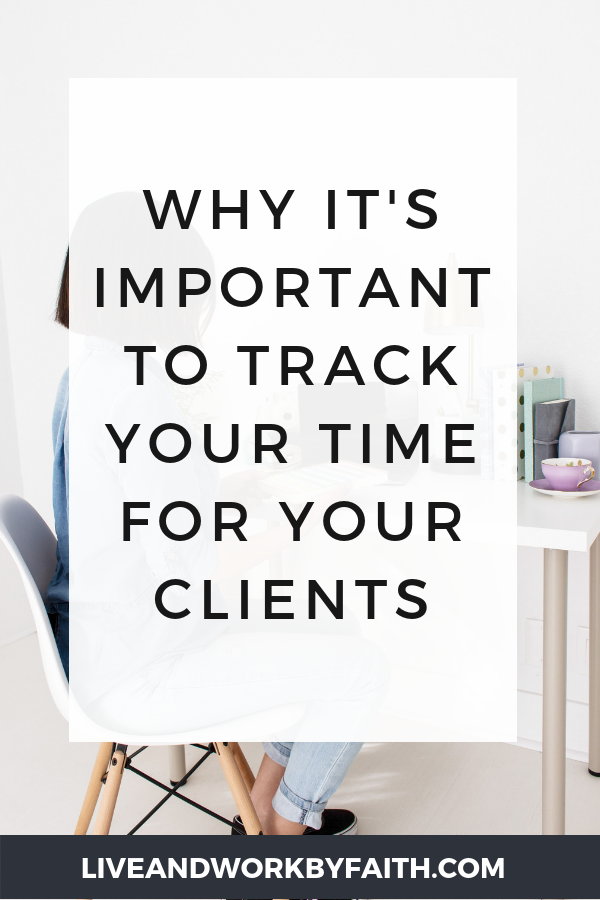 In this post, learn why it's so important to track time for your virtual assistant clients. Includes free social media graphics you can download and brand.