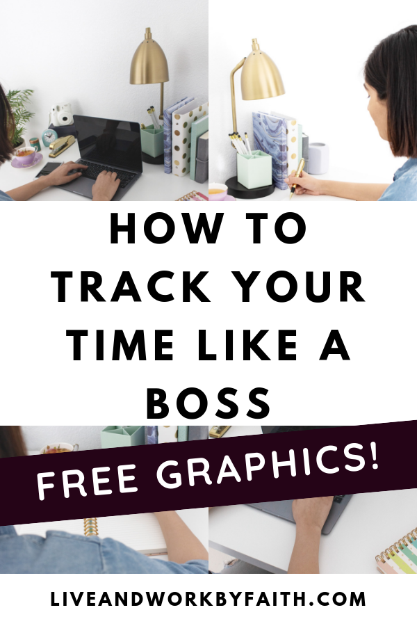 Learn some ways to track your personal time so you can meet your goals. Includes free time tracking social media graphics you can share.