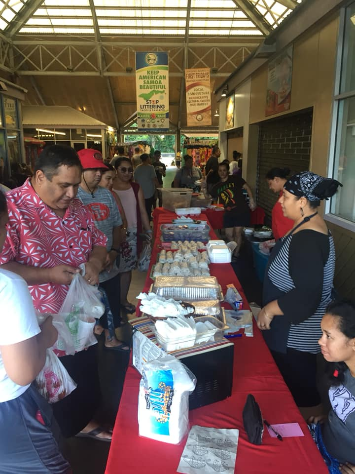 Cultural food, entertainment, and crafts… - sponsored by the American Samoa Department of Commerce and the Community Service Block Grant