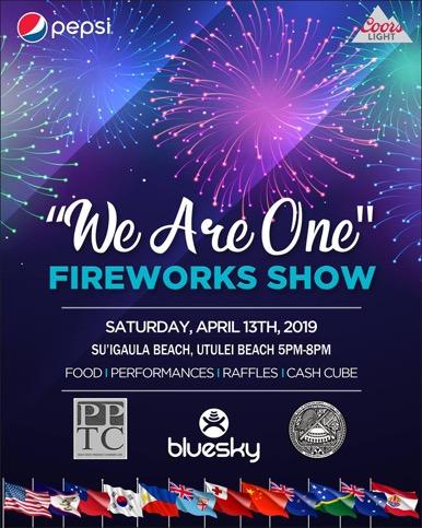 Flag Day 2019 Fireworks Show - PPTC
