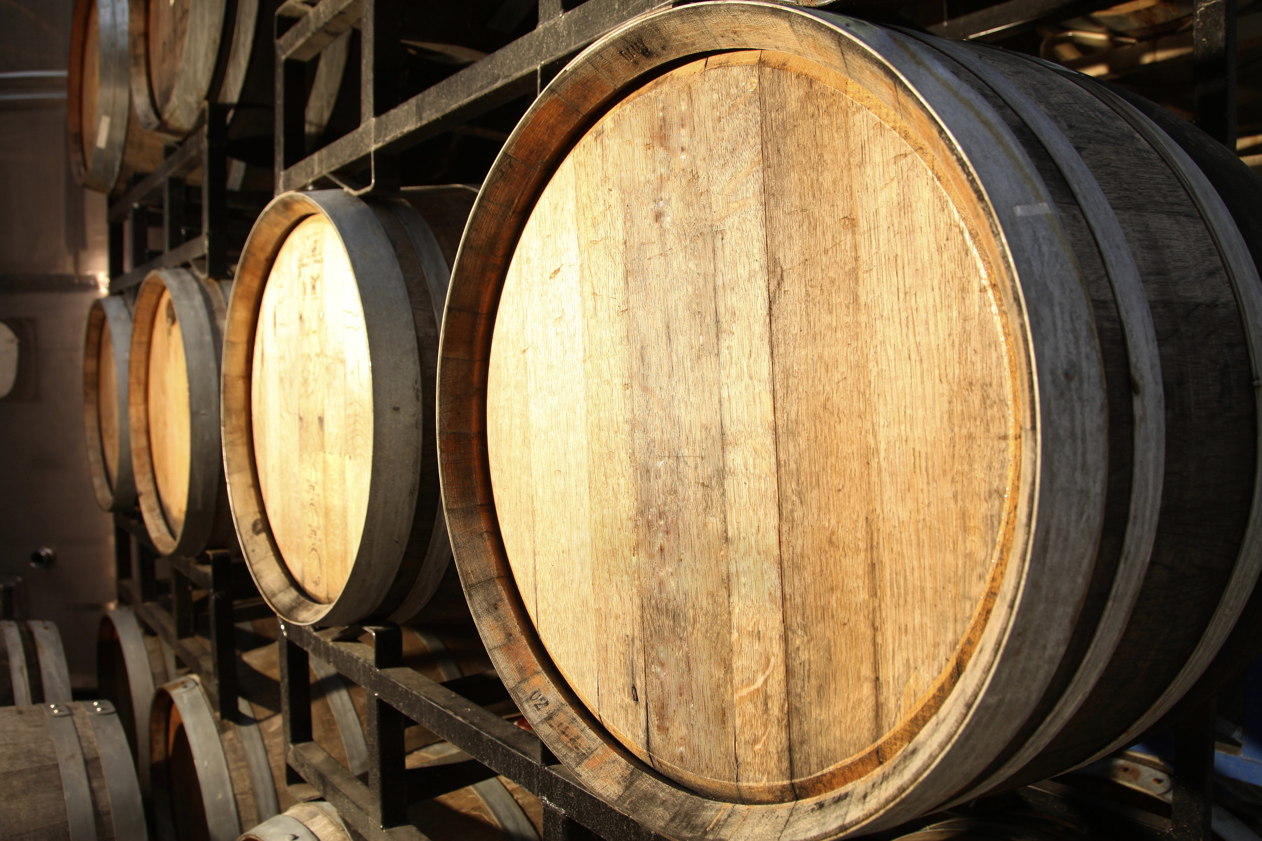 Barrel Room at Averill Creek Vineyard