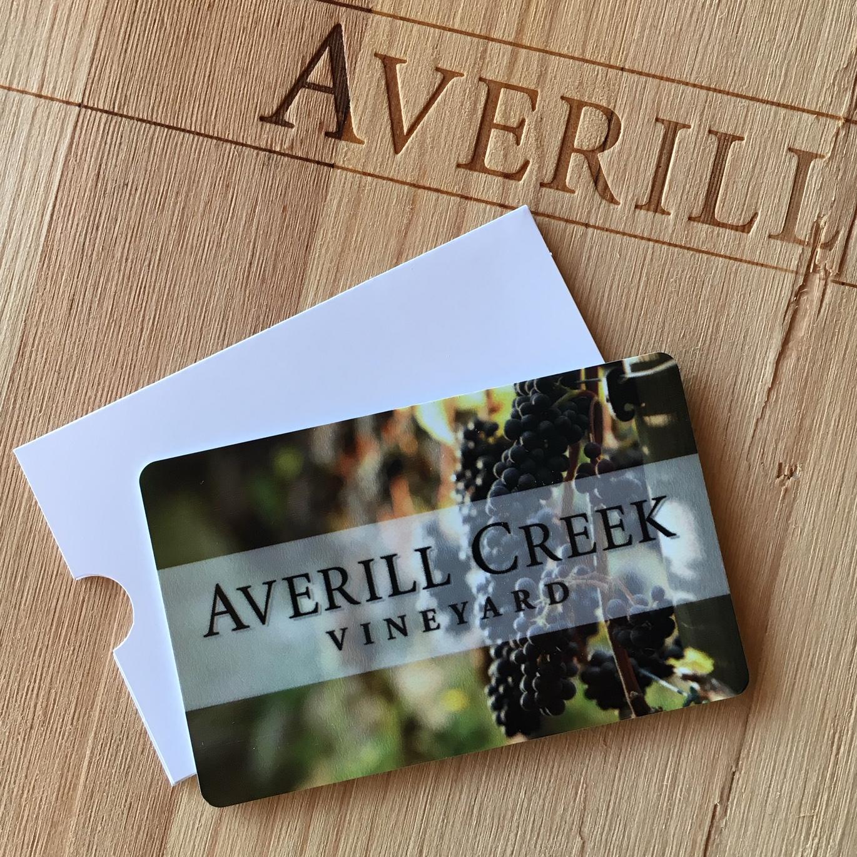 Averill Creek Vineyard Gift Card