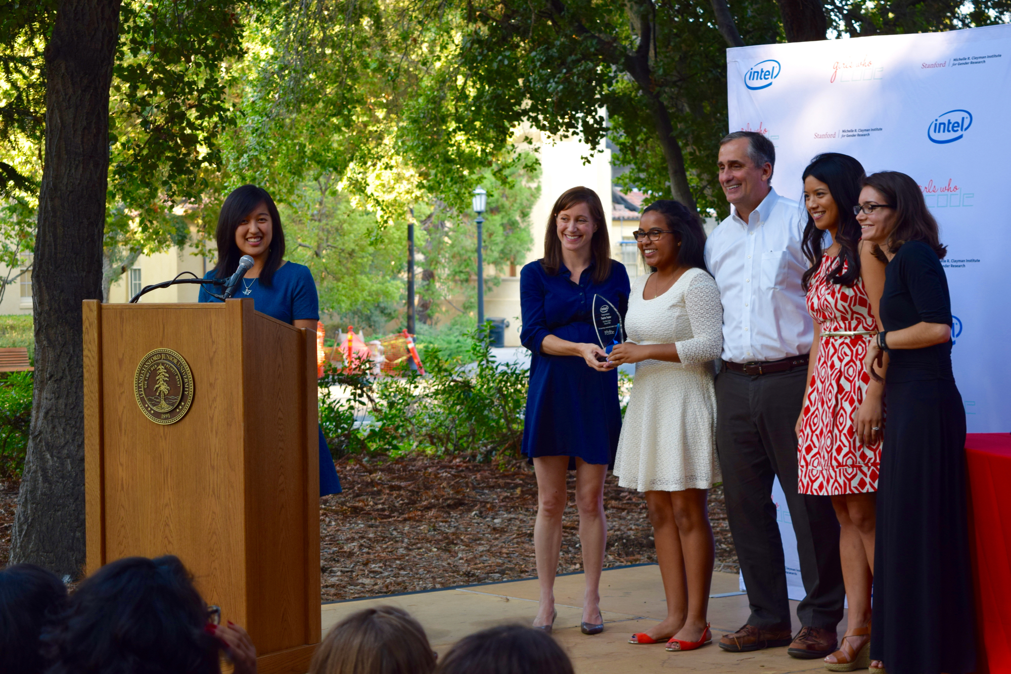 Girls Who Code Graduation @ Stanford with Intel's CEO Brian Krzanich