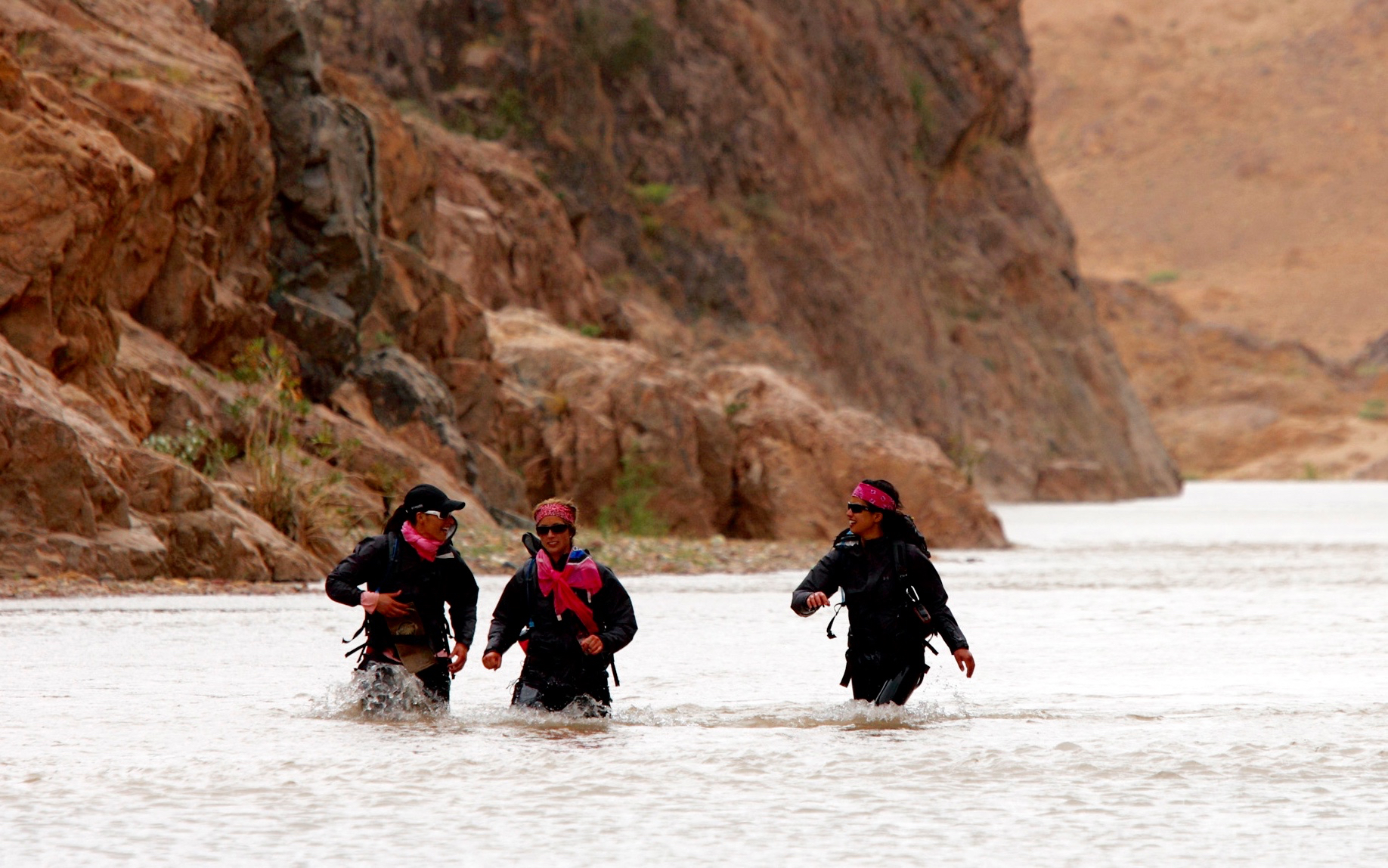 The California Girls on ABC's Expedition Impossible