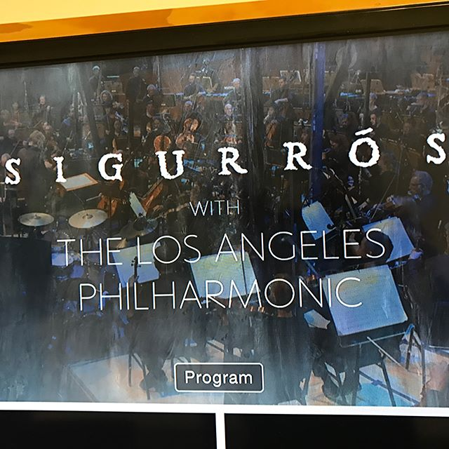 It's hard to believe it's been a year since we joined @pitchfork to produce @sigurros and the @laphil Pitchfork Live live stream @waltdisneyconcerthall in LA!  This will always be one of the most challenging and rewarding shoots we will ever have had the pleasure of working on.  An incredible evening! #music #livestream #live #la #throwback #video