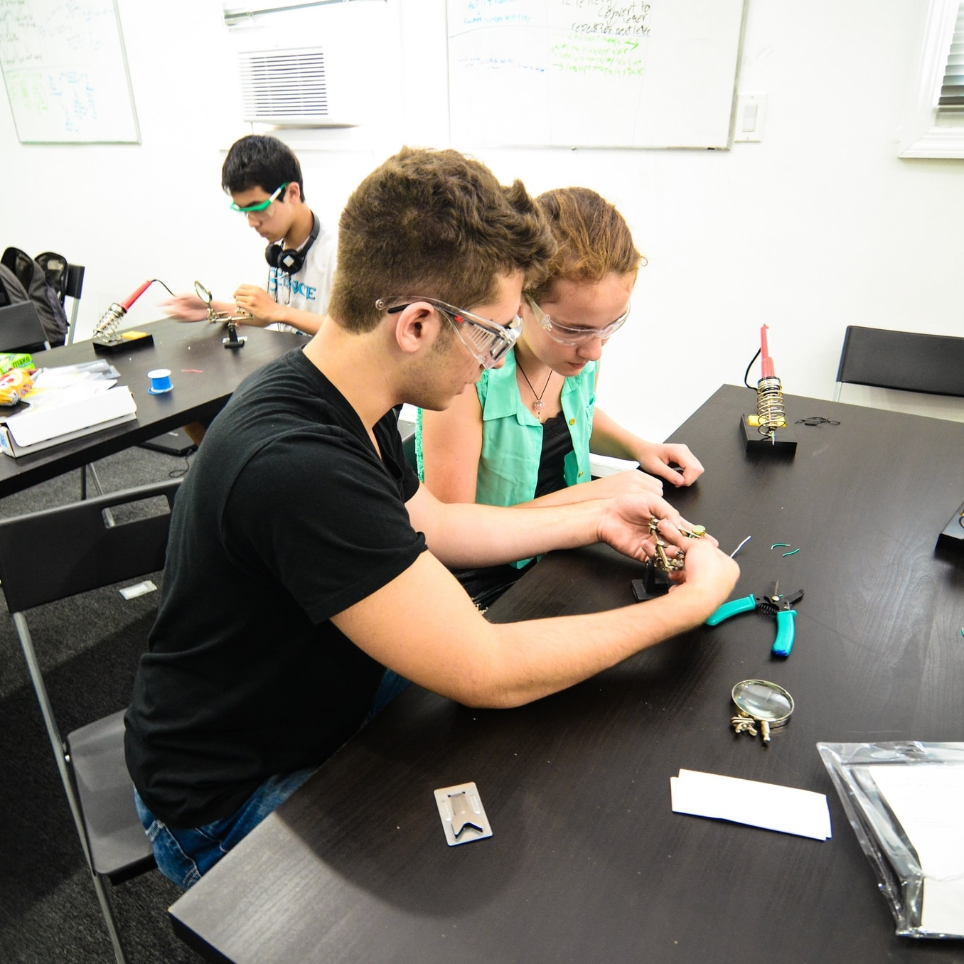 Learn From the Best - Our mentors are teens. Come to Kinet-X and code with Ivy League students. Build robots with world robotics champions. Launch startups with advice from successful teen founders. At Kinet-X, you'll be learning, building, and working with other brilliant young minds.