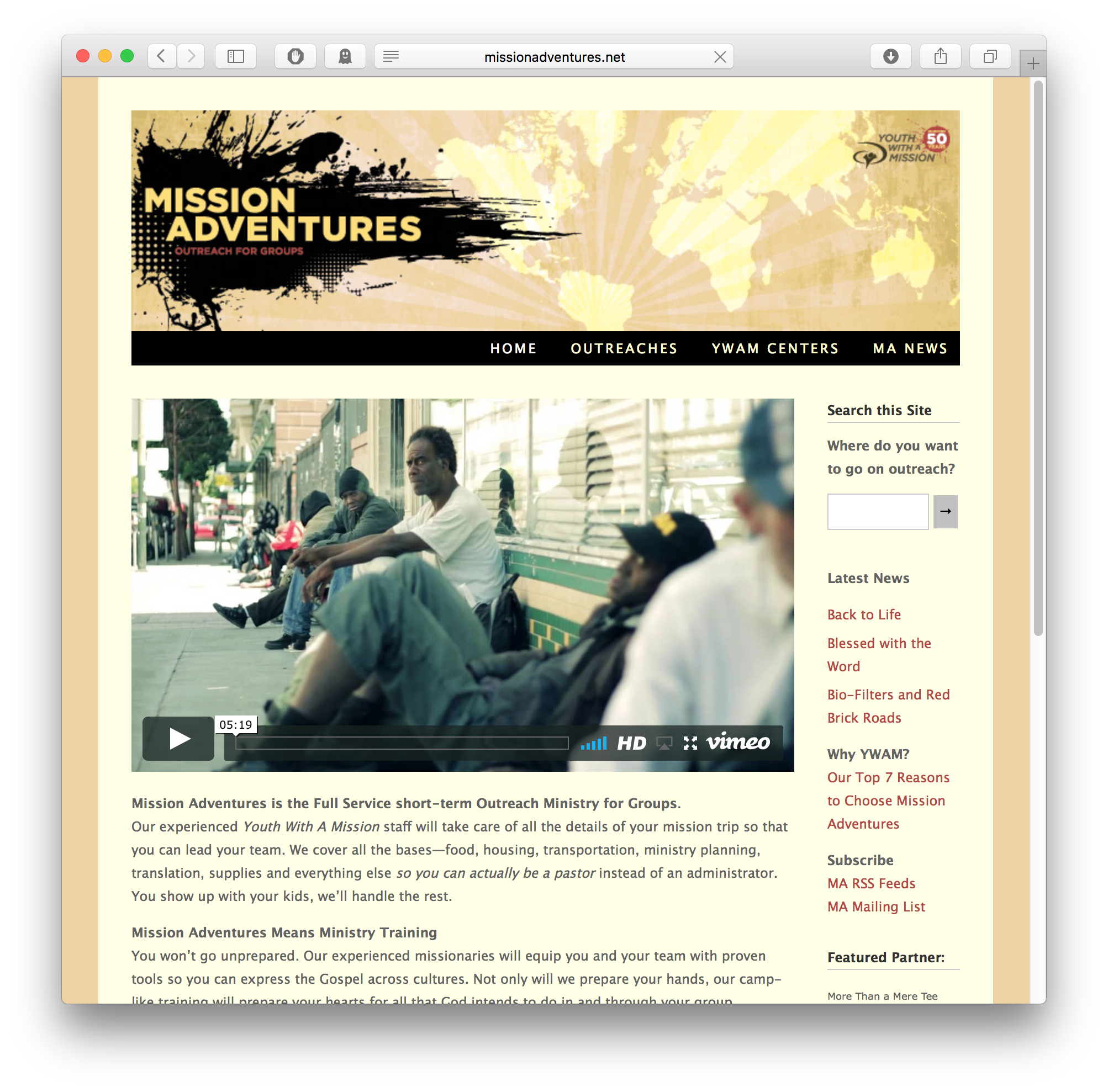 Youth Workers, visit the Mission Adventures site!
