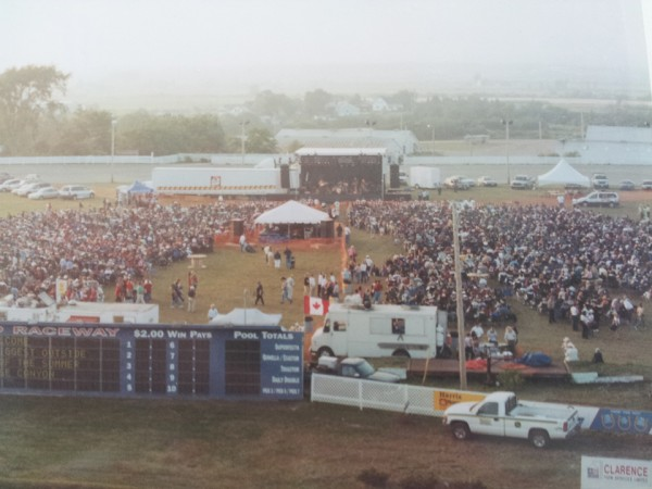 Infield Concert Archived Photo