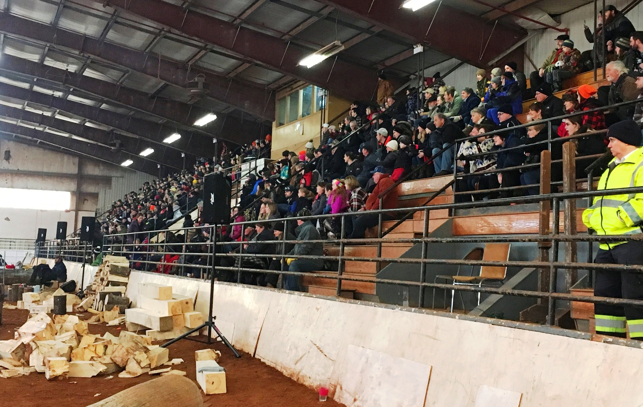 MacMillan Show Centre Full Stands