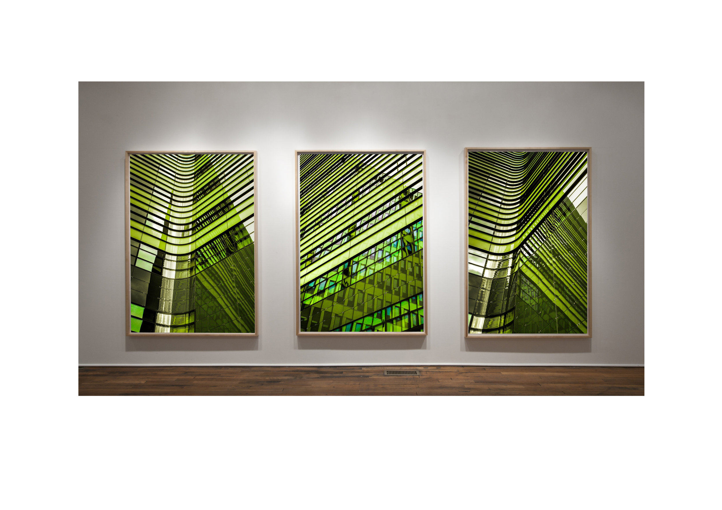 The Glass Is Greener Triptych
