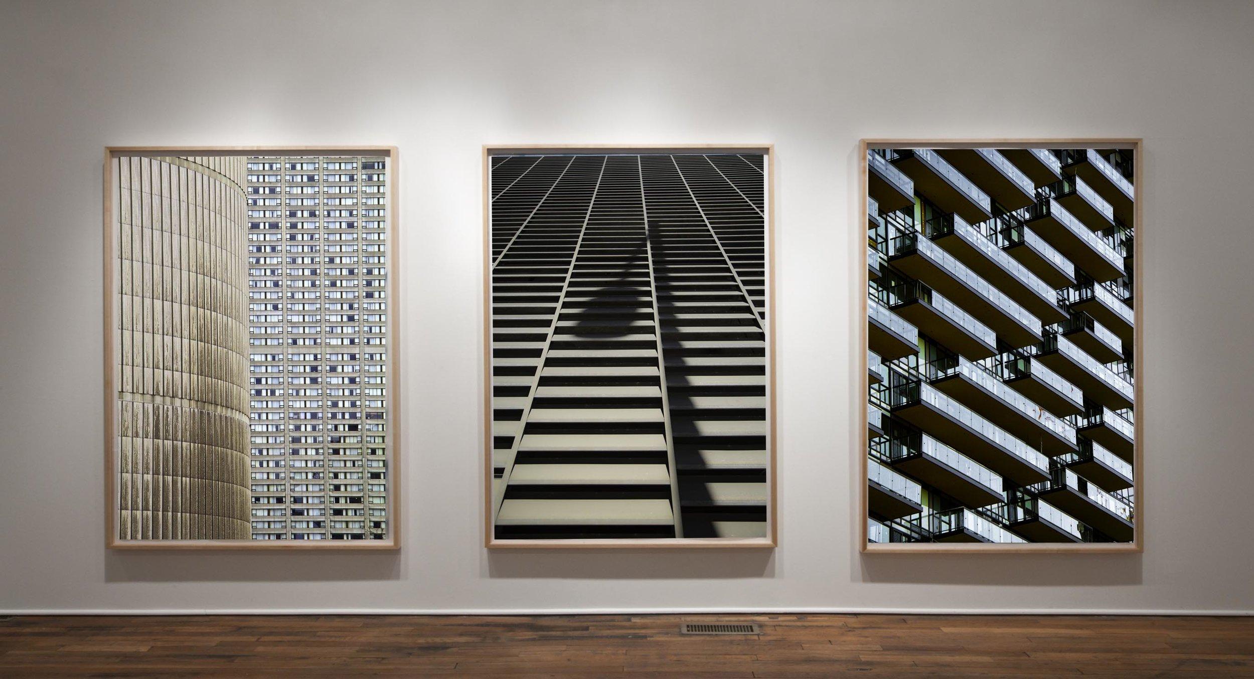 Toronto Concrete, The Lights Shadow & Toronto Glass.