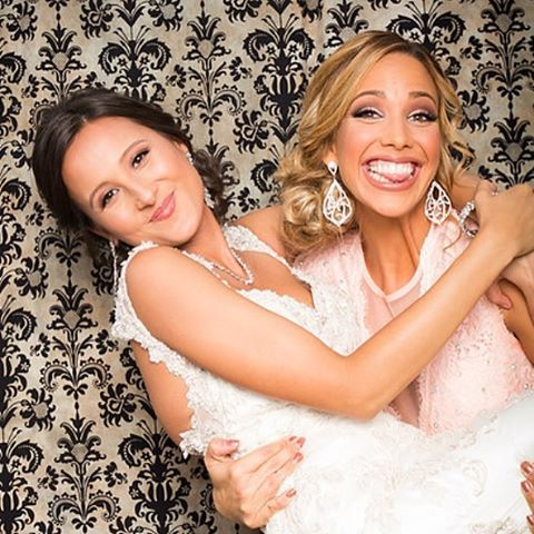 Wedding love! #weddingdress #wedding #weddingparty #photobooth #smiles #love #friendship
