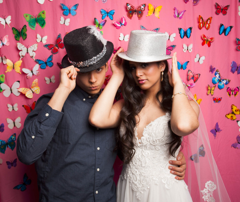 Butterfly Portland Photo Booth Backdrop LUXE Bridal Show