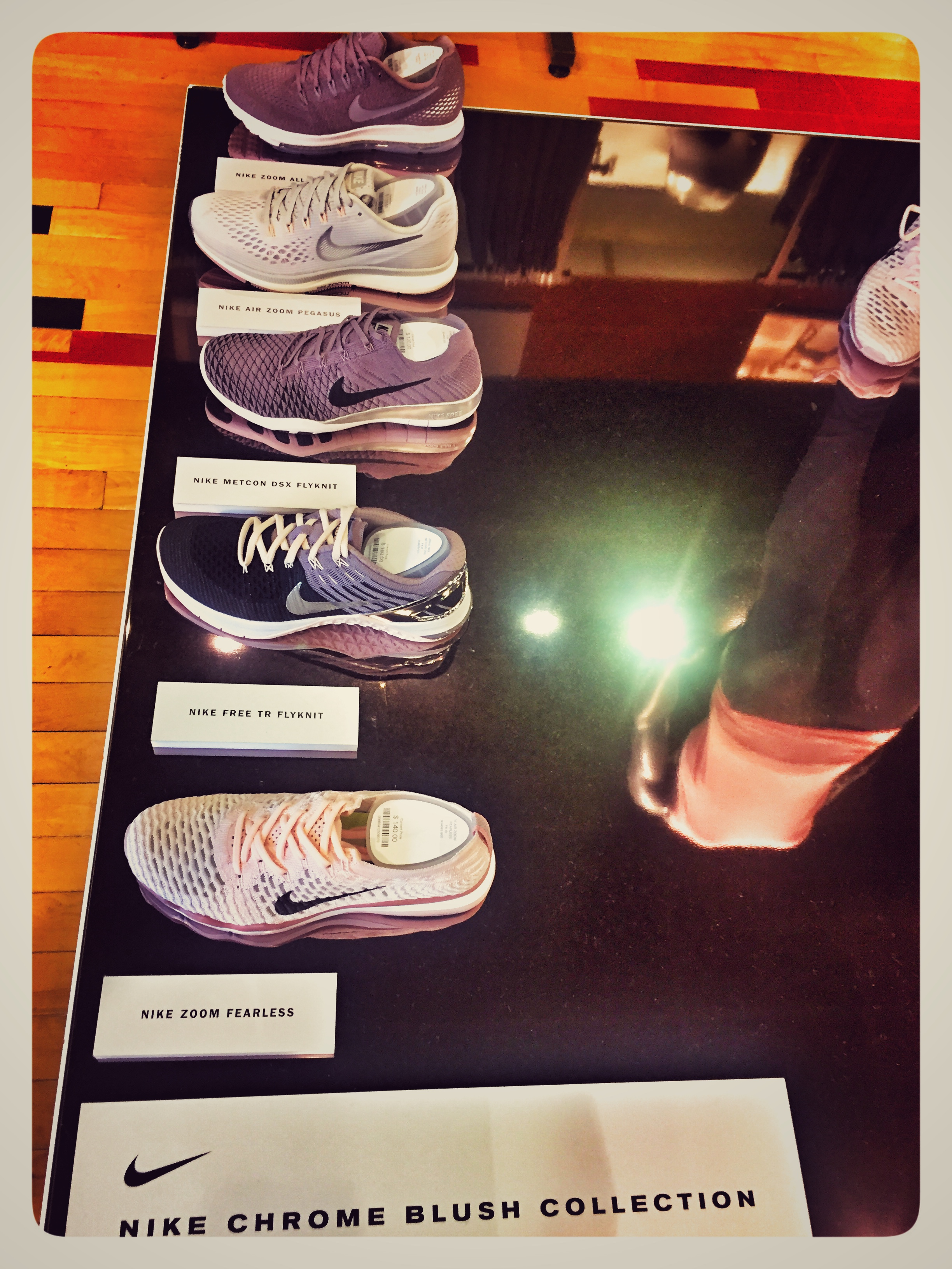 New Nike Chrome Blush Collection