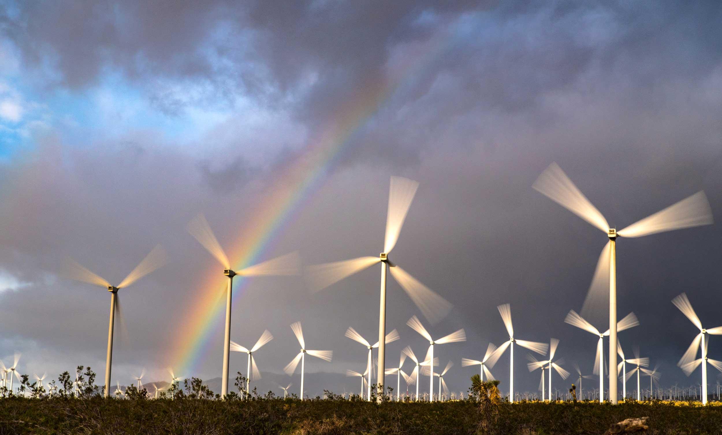 Mojave Windmills