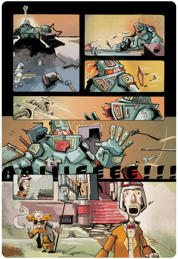 Professor Elemental Comics pg. 4